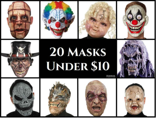 20 masks under 10 dollars