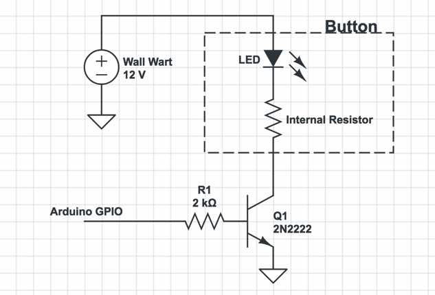 Drive Schematic for LEDs