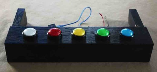 5 Colored buttons from Chance Game
