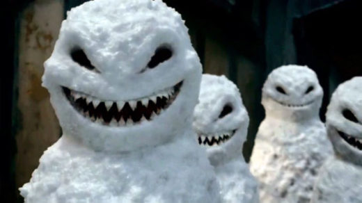 Snowmen from Dr. Who